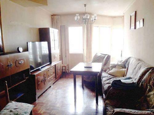 Madrid. Vivienda de 97 m2 distribuida en 4 habitacione